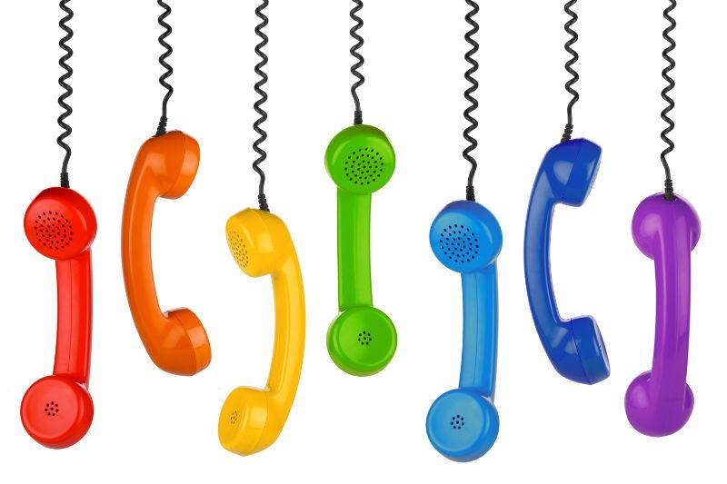 電話 人数